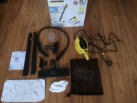 Steam Cleaner + all accesories, Karcher £35