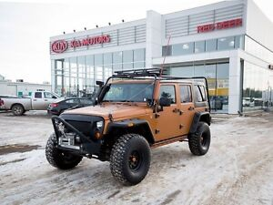 2014 Jeep Wrangler Unlimited UNLIMITED SAHARA- LEATHER, SNORKEL