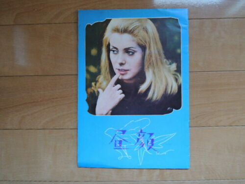 Catherine Deneuve BELLE DE JOUR movie Program japan 1967