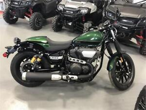 2015 Yamaha Bolt C-Spec - Remaining Warranty on Bike!