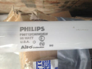 FREE - 31, 8 foot fluorescent light tubes, T12 high output