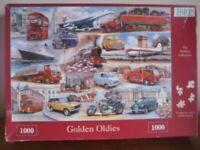 1000 PIECE JIGSAW - GOLDEN OLDIES - COMPLETE - HOP