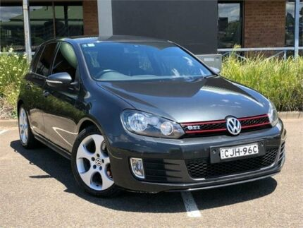 2012 Volkswagen Golf VI MY13 GTi Grey Sports Automatic Dual Clutch Hatchback Mount Druitt Blacktown Area Preview