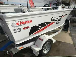 Stacer 429 Outlaw SC with Yamaha F50 Preston Darebin Area Preview