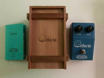 Tycobrahe Octavia Octave Fuzz Chicago Iron Rare Guitar Effect Pedal + Wooden Box