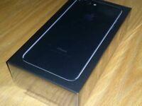 Brand new iPhone 7 jet black 32gb