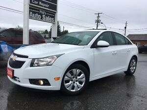 2014 Chevrolet Cruze 1LT TURBO // 6 SPEED / SUNROOF / BACKUP CAM
