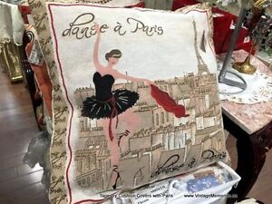 Brand new Tapestry cushion covers with Paris Milan ON Sale