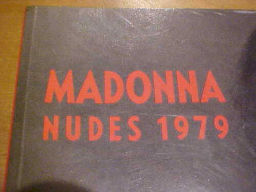 COLLECTORS ITEM  MADONNA NUDES 1979  PHOTOGRAPHY SOFTCOVER BOOK