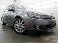 2012 Volkswagen Golf TDI NAVIGATION Highline CUIR TOIT 69,000KM