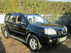 NISSAN X-TRAIL 2.2 DCI SE BLACK 2004 (04) PARKING SENSORS / TOW BAR / 1YRS MOT!!