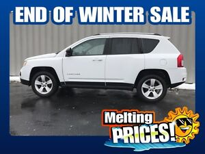2013 Jeep Compass NORTH w/4X4 ( MASSIVE 10 DAY SALE! )