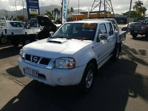 2011 Nissan Navara D22 MY2010 ST-R White 5 Speed Manual Utility Bungalow Cairns City Preview