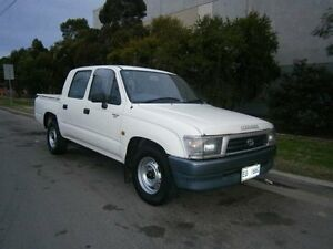 2000 Toyota Hilux RZN149R White 5 Speed Manual Dual Cab Pick-up South Windsor Hawkesbury Area Preview