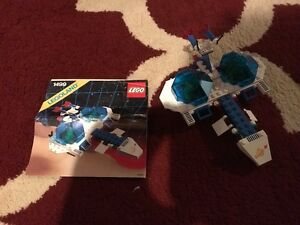Lego Vintage 80's Space Ships, 100% Complete with Manuals!