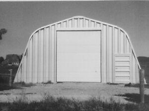 30'W x 50'L x 16'H Metal Building,