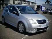 2007 Citroen C2 MY06 VTR Silver 5 Speed Sequential Manual Hatchback Maidstone Maribyrnong Area Preview