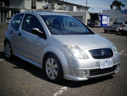 2007 Citroen C2 MY06 VTR Silver 5 Speed Sequential Manual Hatchback