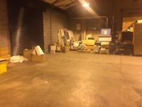 LIGHT INDUSTRIAL WAREHOUSE STORAGE £1 / Sq ft. TO LET - BRAIN TREE INDUSTRIAL ESTATE -