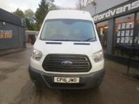 2016 Ford Transit T350 JUMBO 2.2TDCi 125ps L4H3 EXLWB HR E/W Diesel white Manual