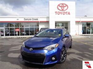 2015 Toyota Corolla S TECH PCKG NAVIGATION ROOF ALLOYS