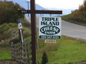Triple Island Cheese Farm Business Opportunity Cherryville