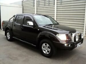 2010 Nissan Navara D40 ST (4x4) Black 6 Speed Manual Dual Cab Pick-up Edwardstown Marion Area Preview