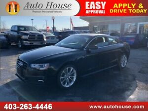 2015 AUDI A5 COUPE QUATTRO S-LINE ALL WHEEL DRIVE