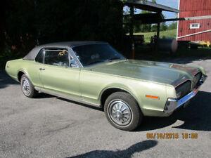 For Sale-  1968 Mercury Cougar XR7 Belleville Belleville Area image 2
