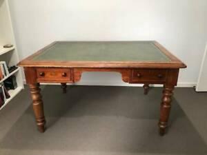Antique Partner's Desk