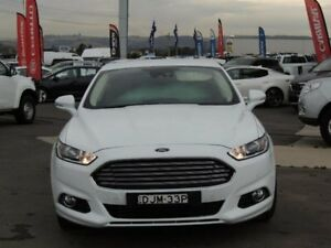 2016 Ford Mondeo MD Trend SelectShift White 6 Speed Sports Automatic Hatchback