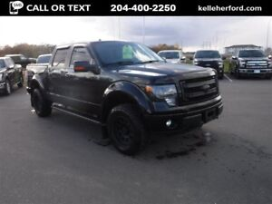 2014 Ford F-150 Fx4 CrewCab Black Widow Edition