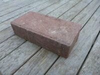 BRICK PAVERS for driveway, red, (60), paviours