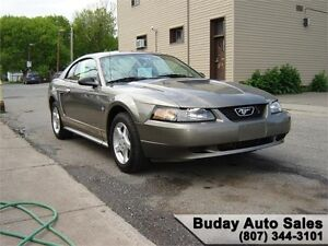 2002 FORD MUSTANG COUPE.
