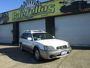 2001 Subaru Outback AWD White 5 Speed Manual Wagon O'Connor Fremantle Area Preview