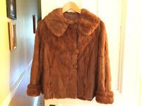 Manteau de fourrure de vison très belle qualité