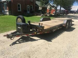 2013 PJ 21 Foot Tilting Trailer