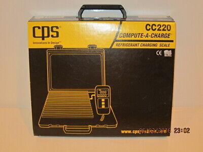 Cps Cc220 Refrigerant Charging Scale 220 Lb 8-34 X 8-34 Platform-nisb Fshp