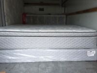 Queen\King size matress and boxspring, good quality, almost new