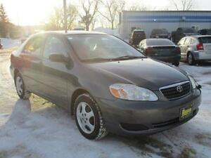 2005 TOYOTA COROLLA CE, SAFETY AND WARRANTY $4,450