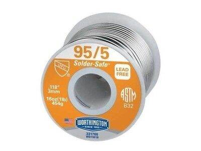 Worthington 331760 955 1 Lead-free Solder Roll