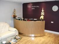 Thai Massage Leamington Warwickshire open 7 days per week 10am until 8pm
