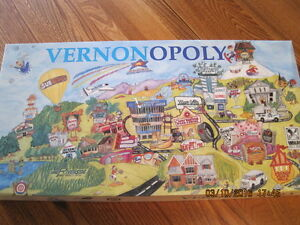 VERNONOPOLY Game Late 1990's ? Like New