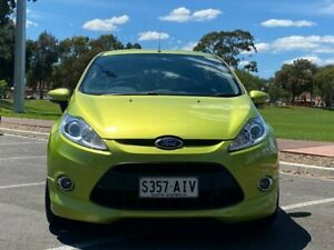 2010 Ford Fiesta WS Zetec Green 5 Speed Manual Hatchback Nailsworth Prospect Area Preview