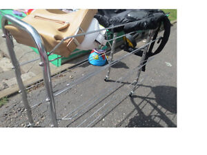 rolling rack (on casters)
