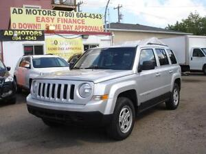 2012 JEEP PATRIOT NORTH SPORT 4X4 AUTO-100% APPROVED FINANCING!