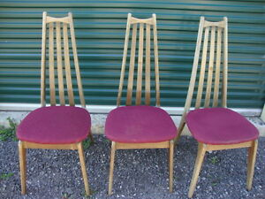 3 Vintage Mid Century Adrian Pearsall Chairs