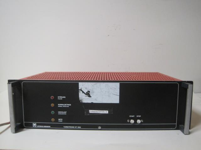 REFU LEYBOLD TURBOTRONIK NT 1500  TURBO PUMP CONTROLLER RACK MOUNT GUARANTEED