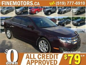 2011 FORD FUSION SE SEDAN * POWER ROOF * FINANCING AVAILABLE
