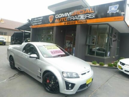 2009 Holden Special Vehicles Maloo E Series MY09 R8 Silver 6 Speed Manual Utility